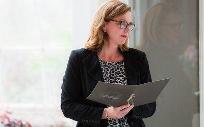 Ceremoniespreker Pauline Suidgeest